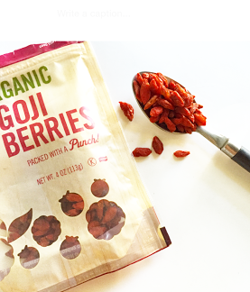 goji berries kale in it