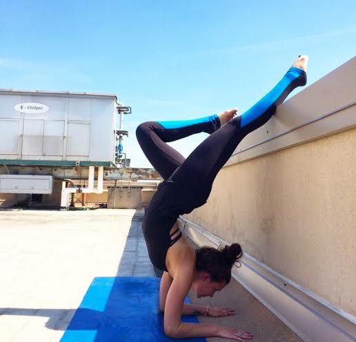 inversion forearm stand